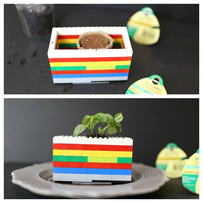 Growable Lego Planter