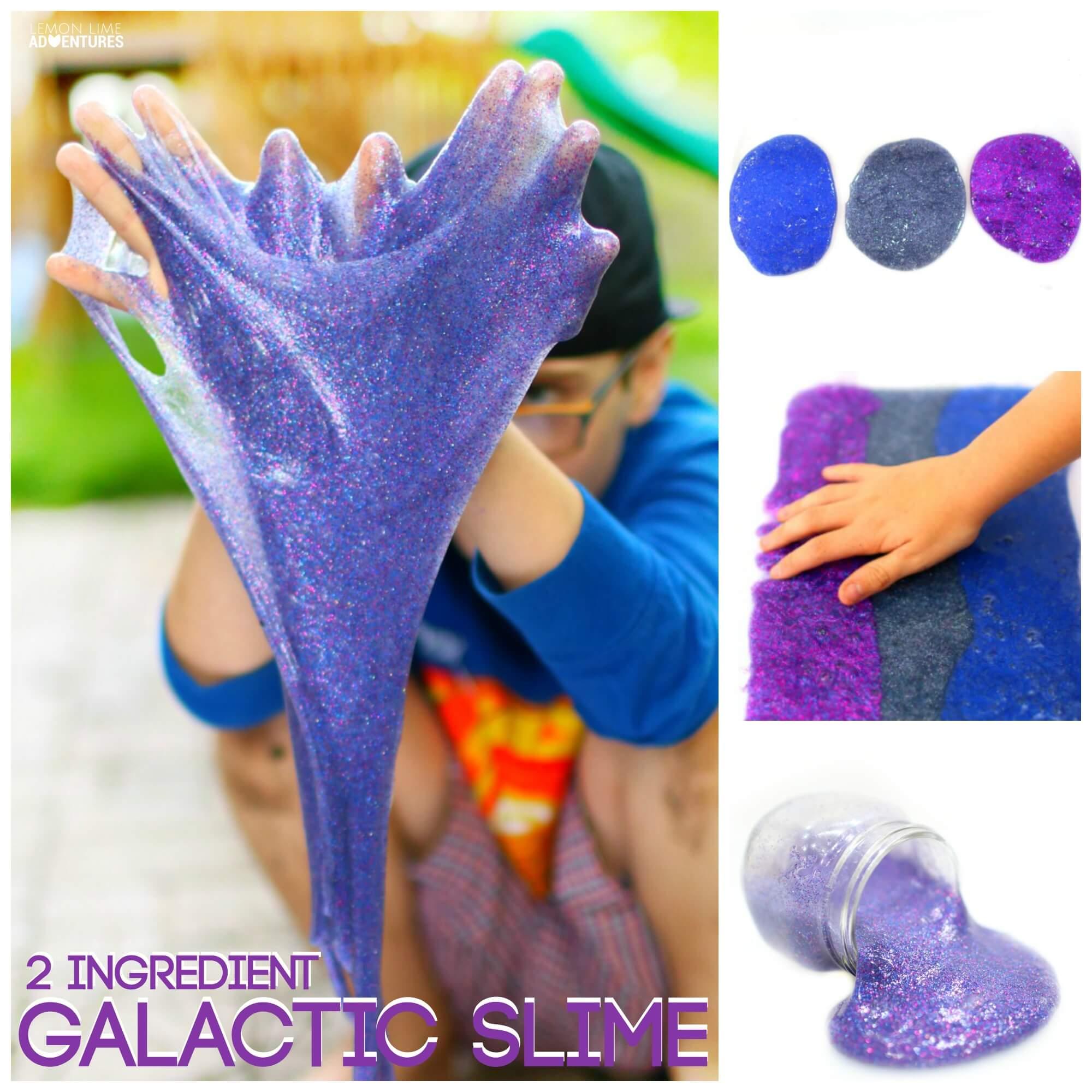 2 ingredient Galactic Slime Recipe