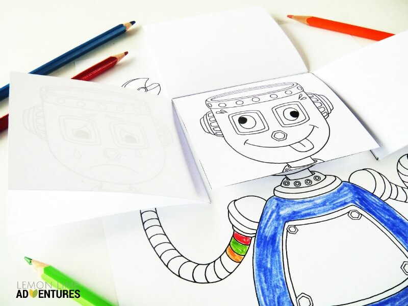 The Emotional Robot | Simple Emotions Activity for Kids