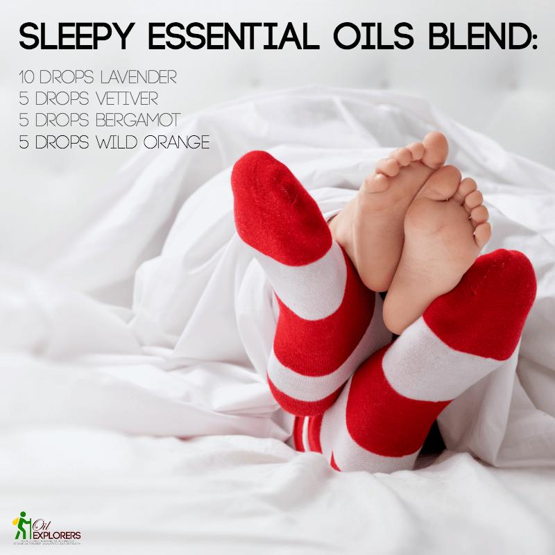 Sleepy Essential Oils Blend
