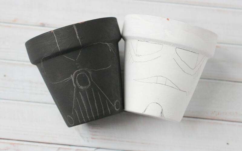 how to make star wars garden pots (1)
