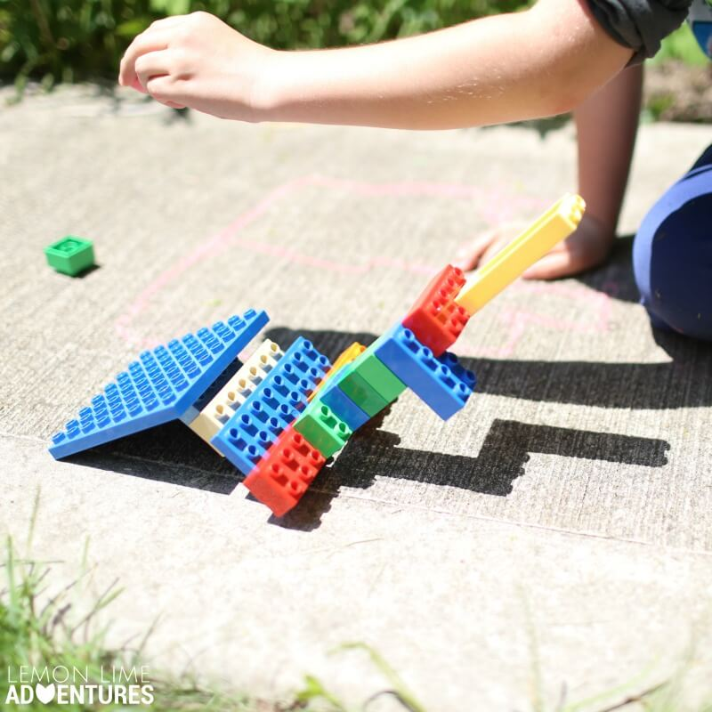 Lego Shadow Towers | Simple Summer Science