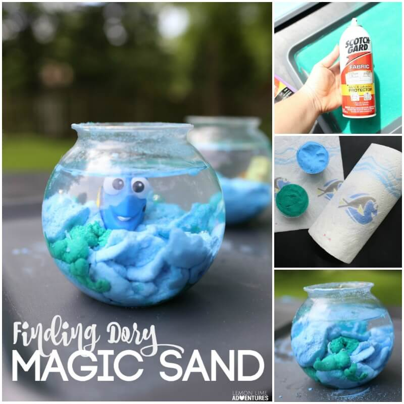 FInding Dory Magic Sand Craft for Finding Dory Parties
