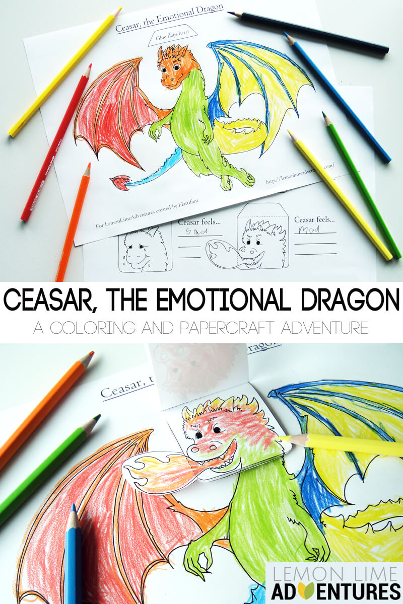 Emotions Game for Kids- Emotional Dragon