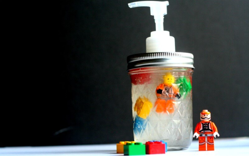 DIY Lego Natural Hand Sanitizer