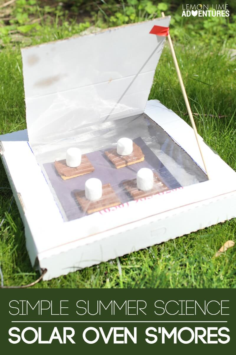 Simple Summer Science Solar Oven Smores