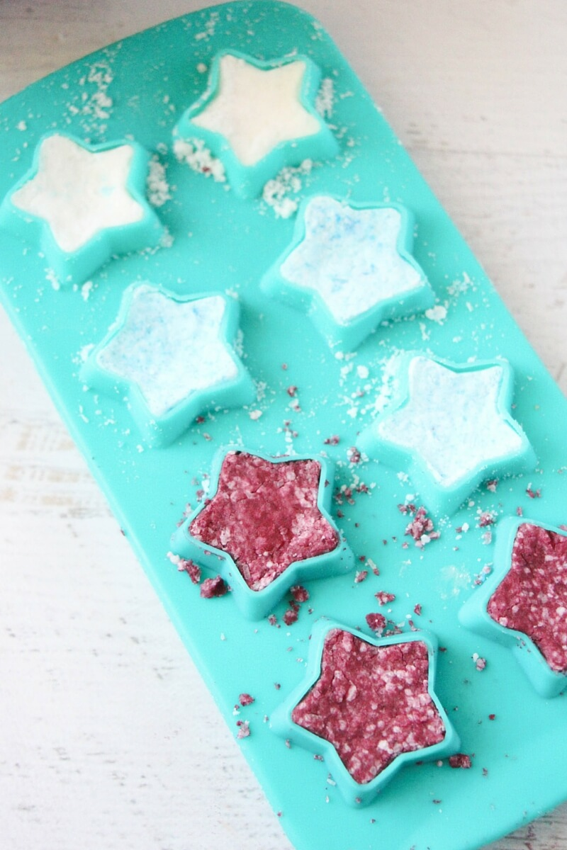 how to make fizzy bath bombs (2)