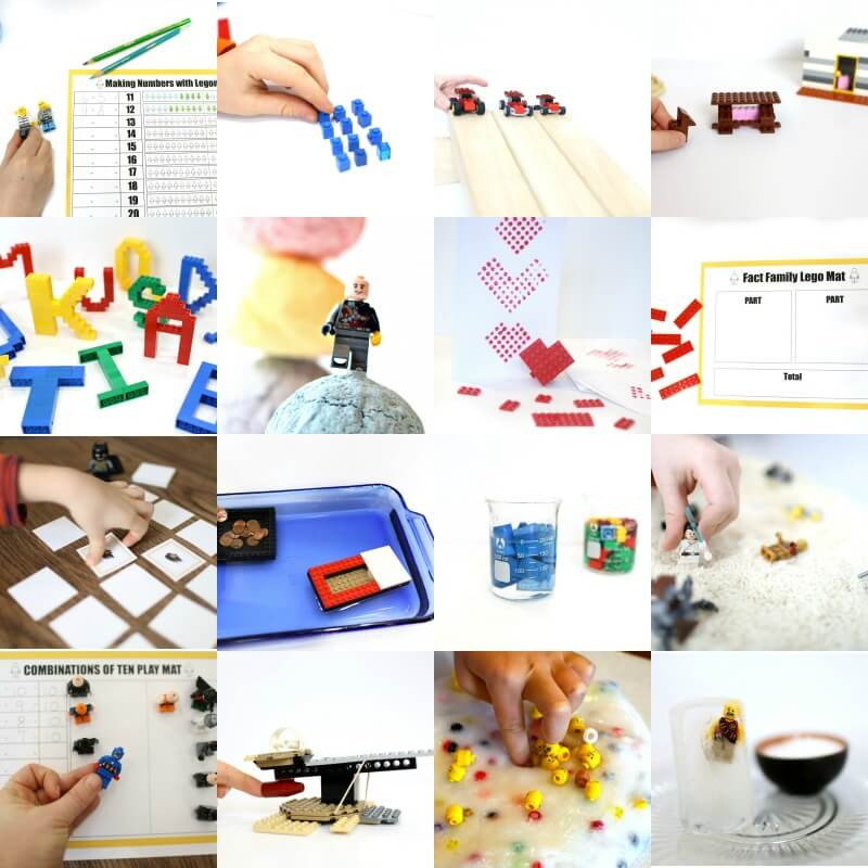 100+ Totally Awesome Lego Learning Ideas to Squash Boredom