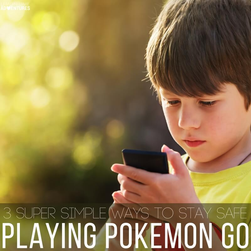 3 Super Simple Ways to Stay Safe Playing Pokemon Go