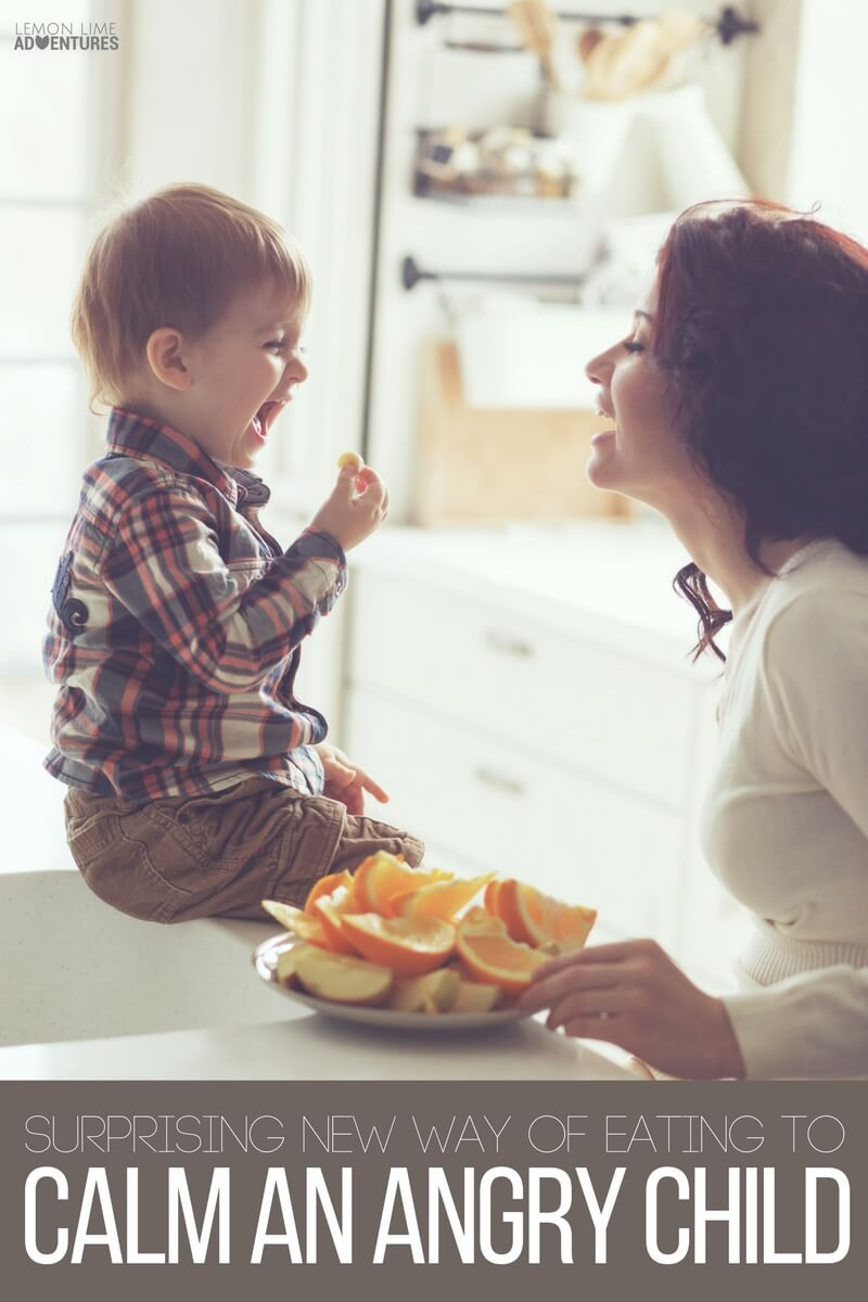 A Surprising New Way of Eating to Calm an Angry Child