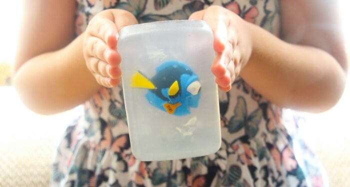 Totally Awesome Homemade Finding Dory Soap