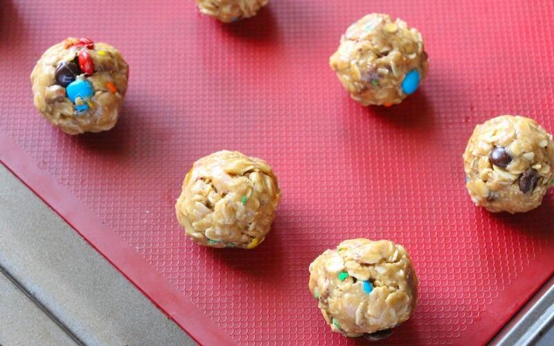 Totally Tasty Kid-Made M&M Energy Bites!