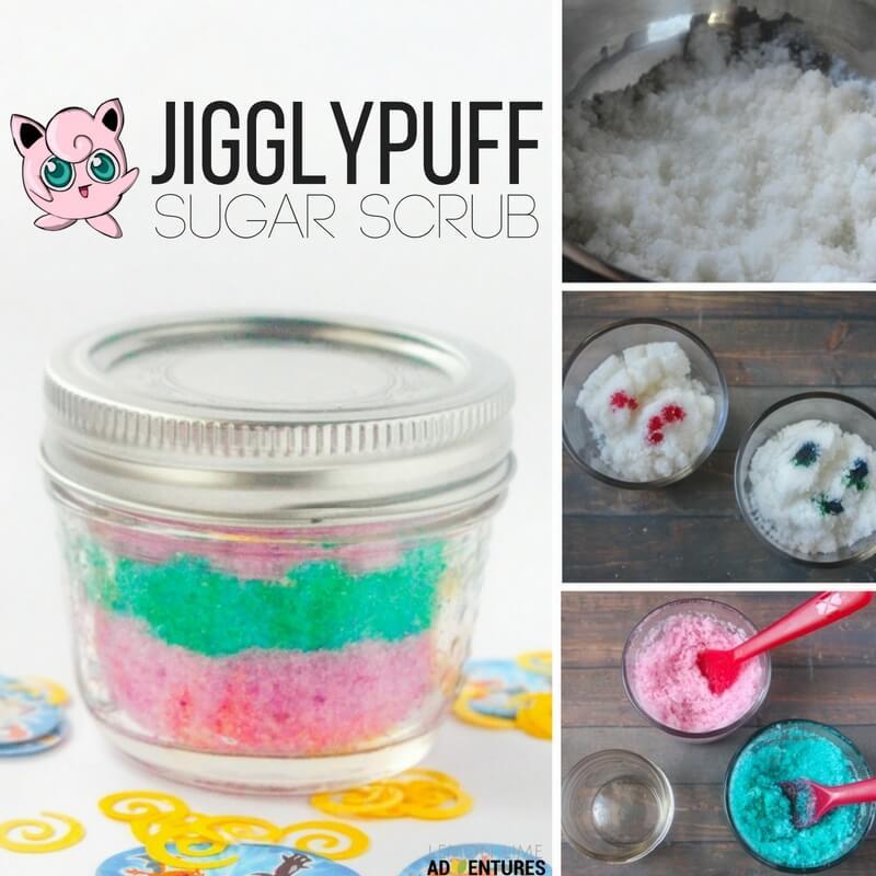 Sleepy-time Jigglypuff Pokemon Sugar Scrub