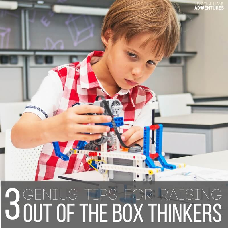 How to Raise Out of the Box Thinkers