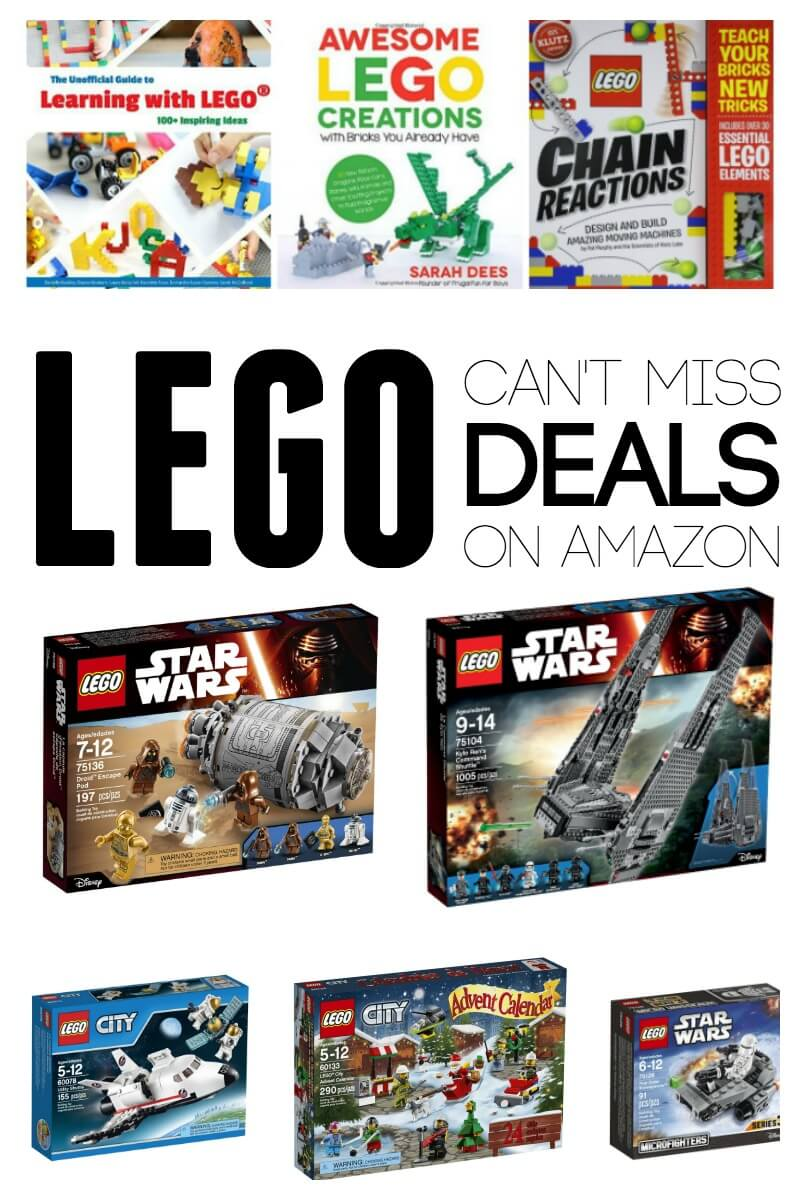 Can't Miss Lego Deals on Amazon