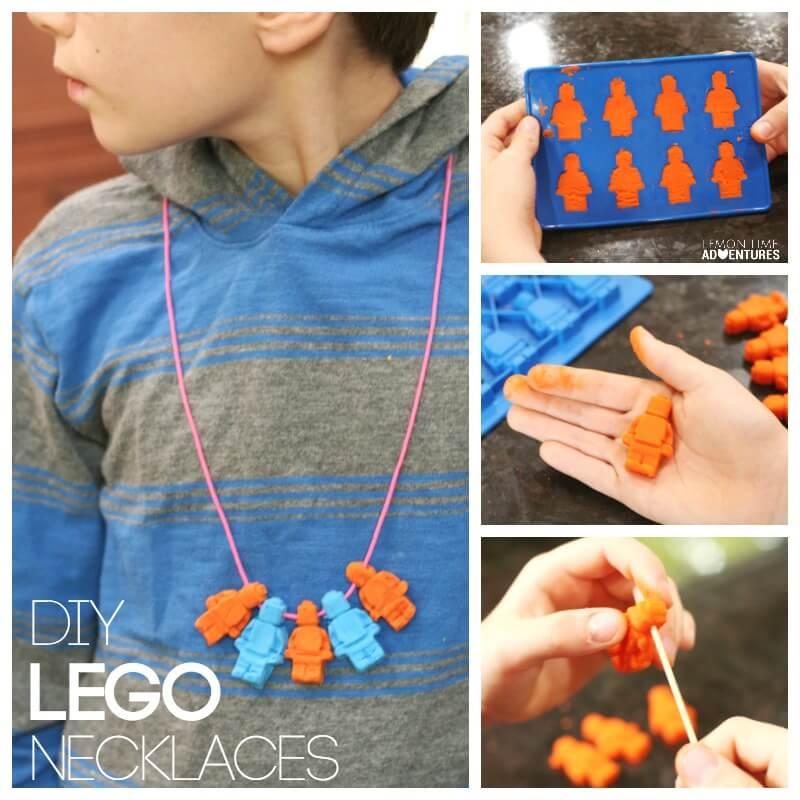 DIY Lego Necklaces for Kids
