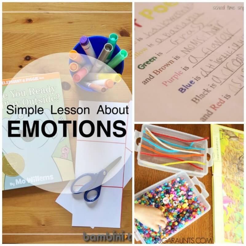 Super Fun Book Activities to Help Kids Recognize Emotions!