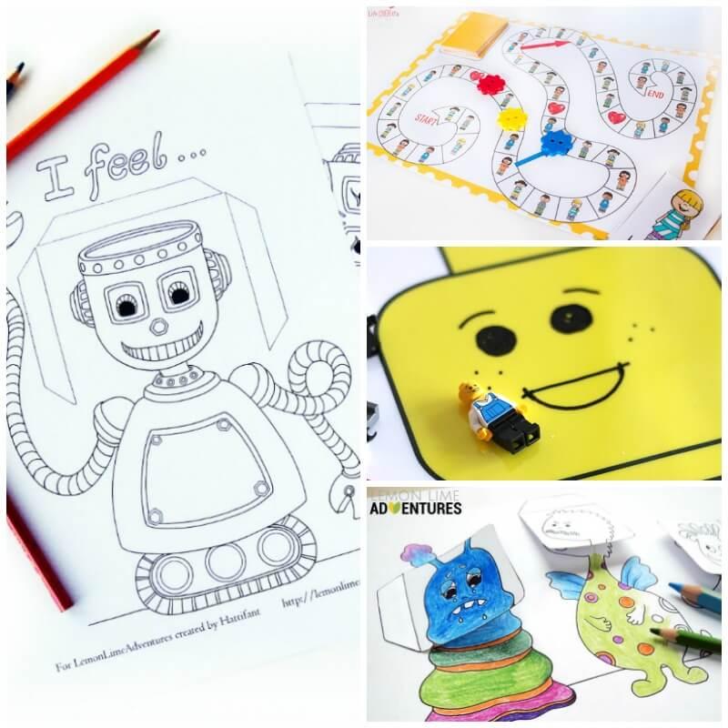 Super Fun Printable Activities to Help Kids Recognize Emotions!