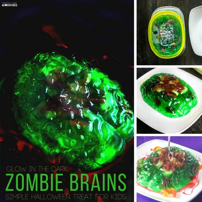 Zombie Brain Jello Recipe for Kids!