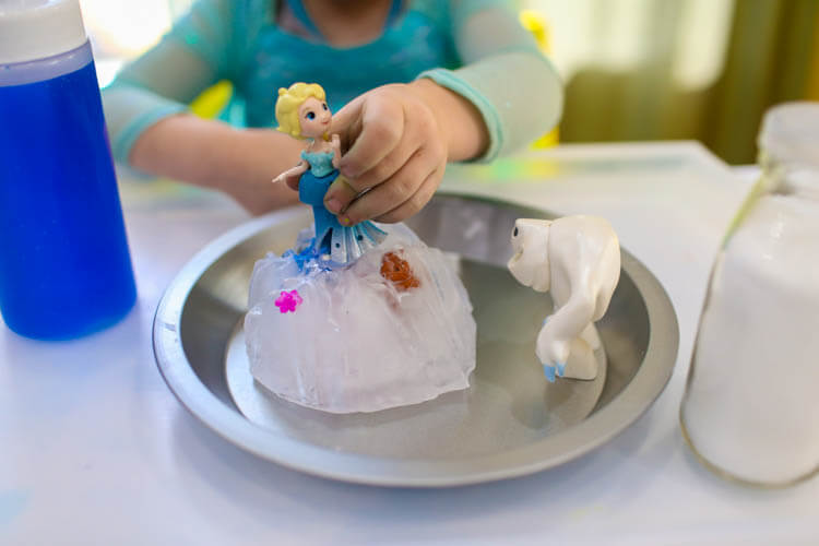 Frozen Science Experiment for Kids