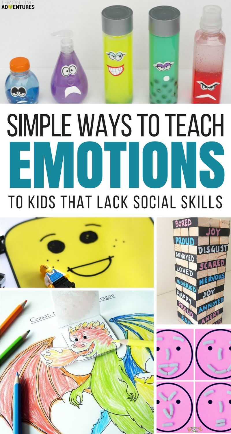 Simple Ways to Teach Emotions to Kids that Lack Social Skills
