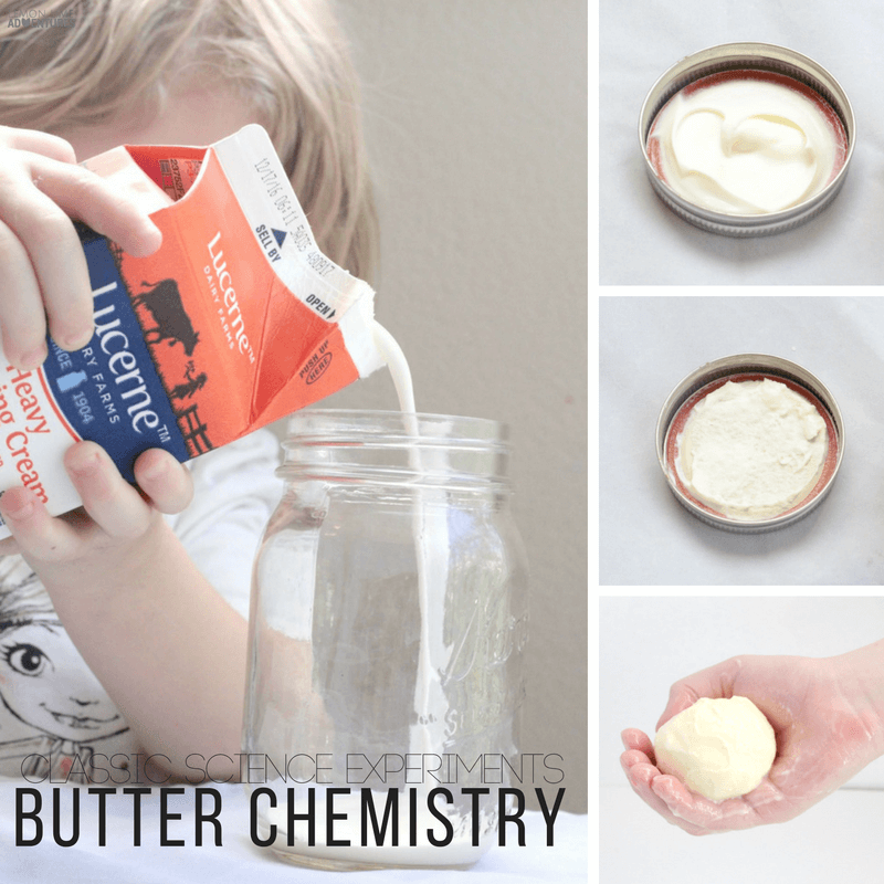 Classic STEM Experiments | This Butter Chemistry Experiment is perfect for any age!