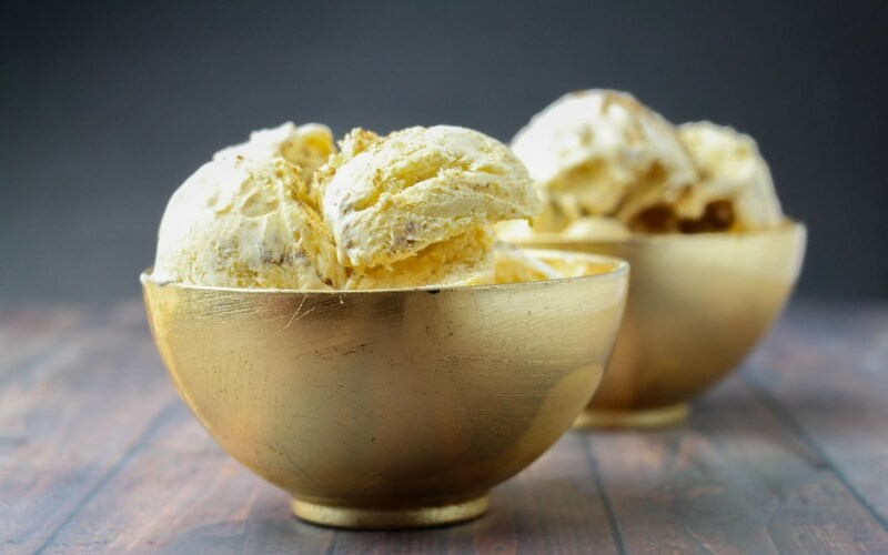 Perfect No-Churn Pumpkin Ice Cream