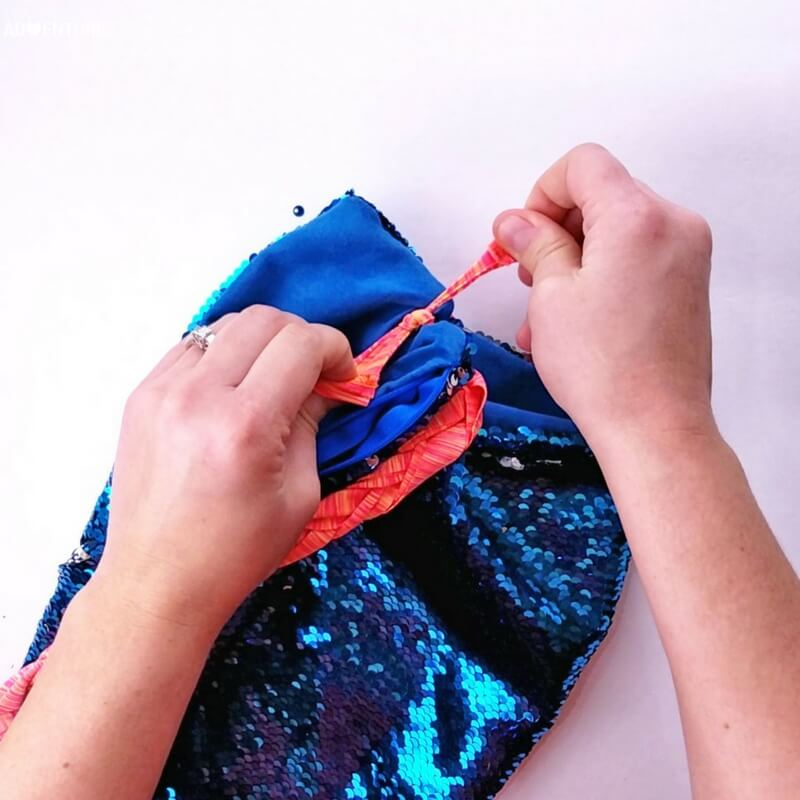 Totally Awesome No-Sew Mermaid Fidget Bag