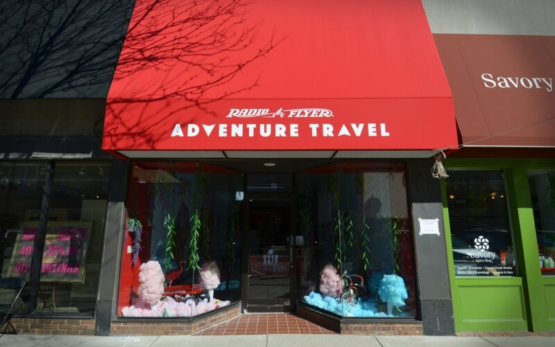 Radio Flyer Travel Agency