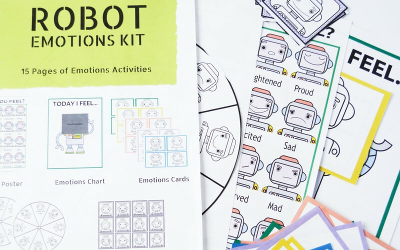 How to Teach Kids About Big Emotions with Robots and Games