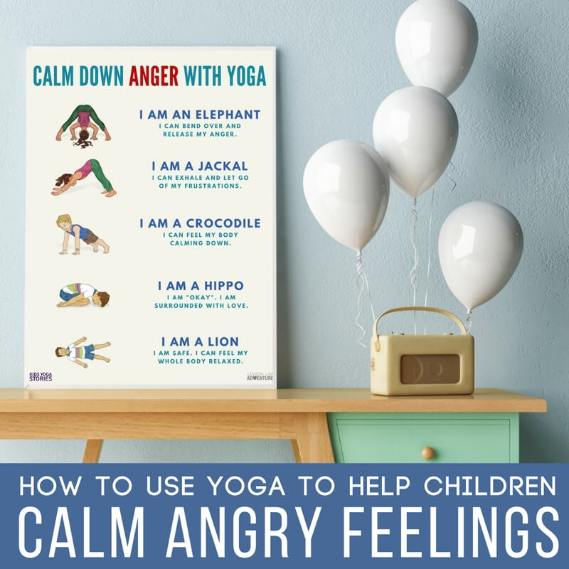 Simple Yoga Poses to Help Calm an Angry Child