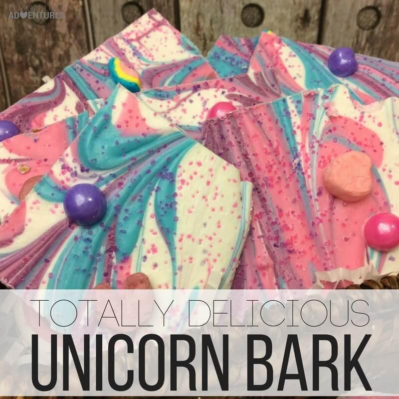 Totally delicious unicorn bark!