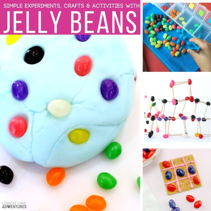 Simple Crafts Experiments and Activities with Jelly Beans Kids will Love