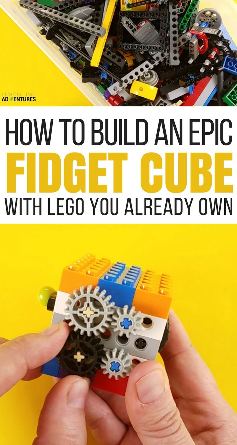 How to Build a DIY Fidget Cube With Lego You Already Own