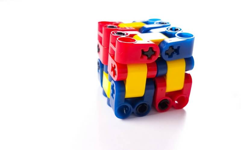 Magically Endless DIY Lego Fidget Cube for Kids That Can't Sit Still