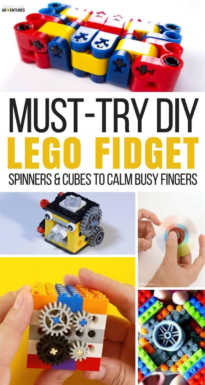 Must Try DIY Lego Fidget Spinners