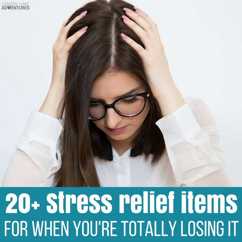 Stress Relief Items for When You Feel Like You're Losing It