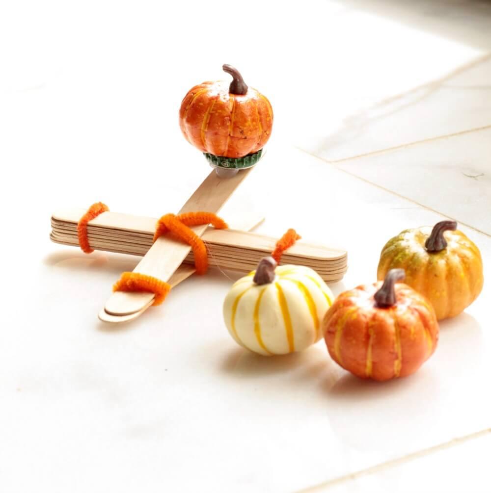 Pumpkin Catapult Fall STEM Activity