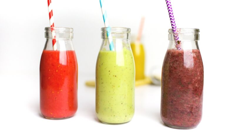 Super Simple Sick Day Smoothies for Kids that Touch EVERYTHING