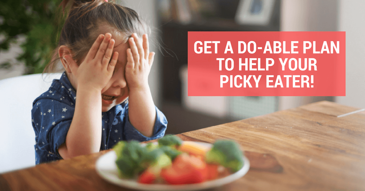 Put an end to picky eating with the picky eating workshop!