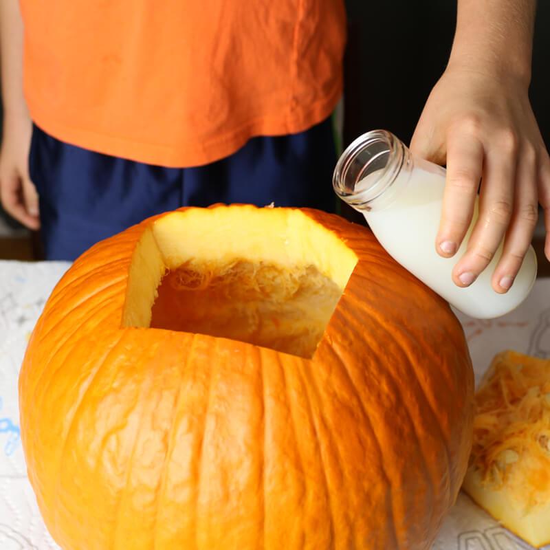 Pumpkin slime