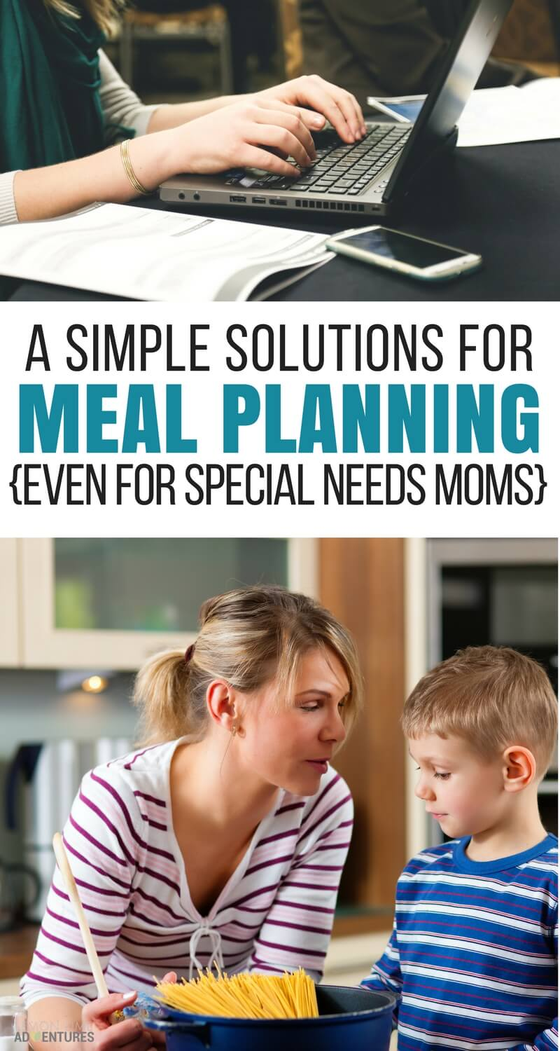 A Simple Solution for Meal Planning (Even When IEPs Get in the Way)