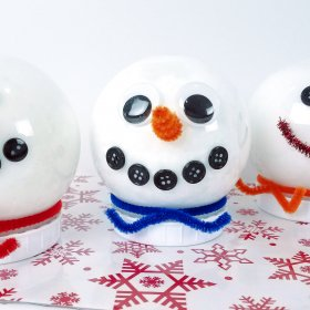 Snowman Slime Recipes