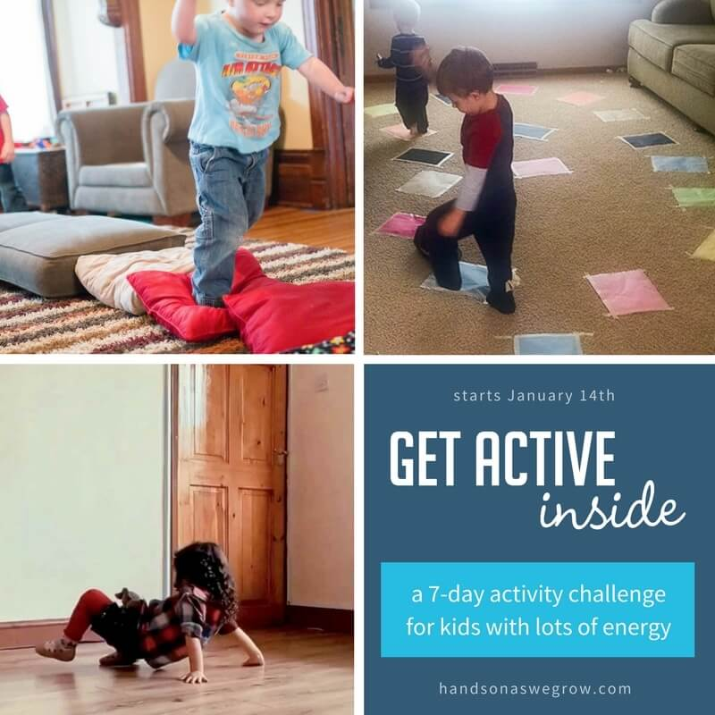 Stuck inside with the kids during cold weather? Try this FREE 7-Day Challenge to stay sane! Trust me, you'll thank me for this one!